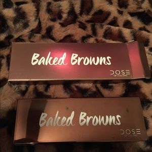 Dose baked Browns palette